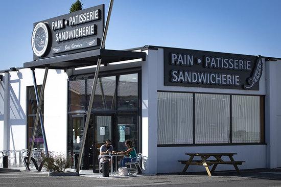 Enseigne lumineuse boulangerie Montélimar