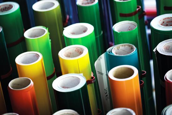 adhésif couleur fabrication montélimar