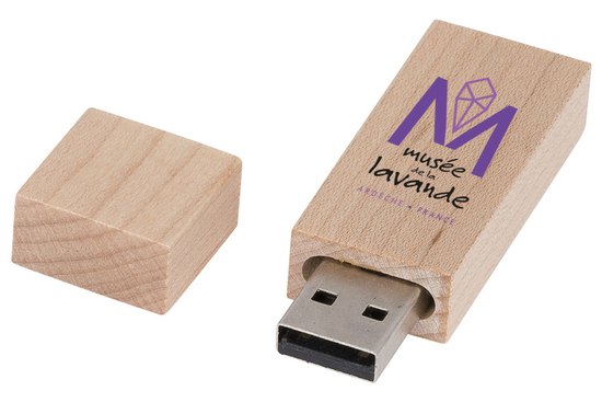 Clés USB Bois Personnalisées ardèche