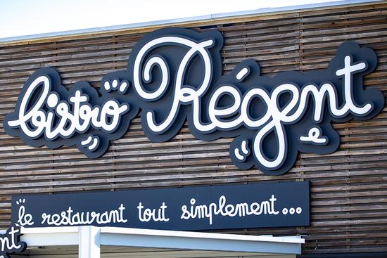 Enseigne restaurant Bistro Régent Montélimar