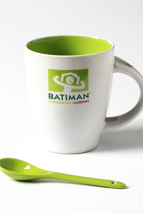 Impression Mug Publicitaire batiman