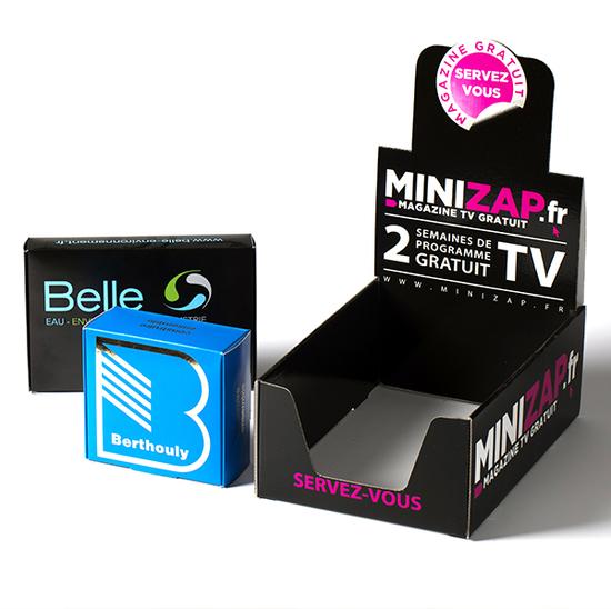 Impression Packaging personnalisé Montélimar