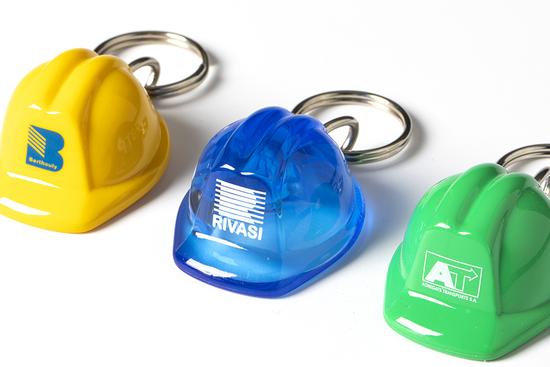 Porte Clés Personnalisé casque de chantier